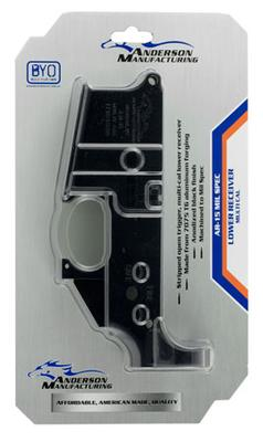 MULTI CAL AR-15 STRIPPED LOWER REC.