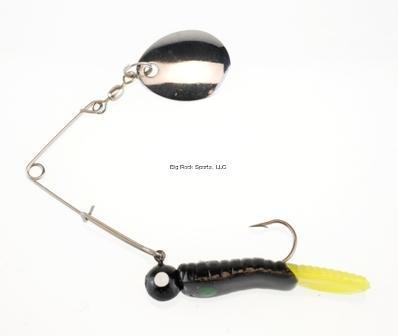1/8OZ BEETLE SPIN BLACK/YELL