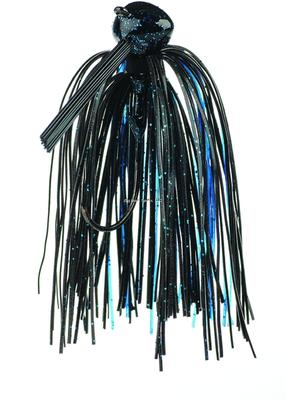 FOOTBALL JIG 3/8OZ BLUE/BLACK