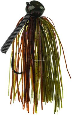 FOOTBALL JIG 3/8OZ GRN/PNK/CR