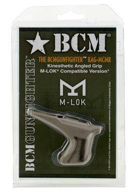 BCMGUNFIGHTER KINESTHETIC ANGLED FOREND GRIP M-LOK MOD3 FLAT DARK EARTH
