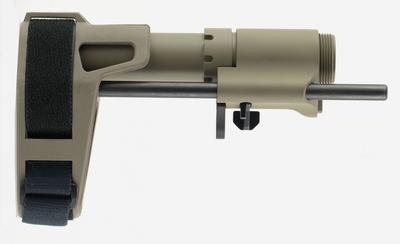 AR BRACE PDW AR-15 ELASTO-POLYMER FDE 6.75`-9.375` L