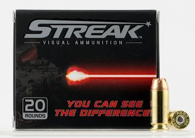 9MM STREAK RED 115GR JHP