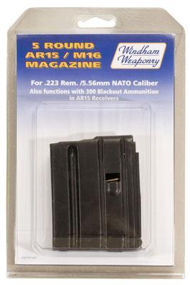 223/5.56 5-ROUND AR-15 MAGAZINE