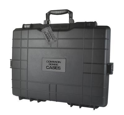 POLYMER DOUBLE PISTOL CASE 19`X13`X4`
