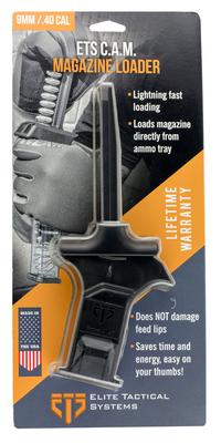C.A.M MAG LOADER 9MM/40 SMITH  WESSON (SW) POLYMER BLACK FINISH