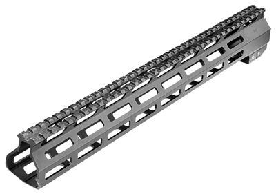 AR15 M-LOK HANDGUARD 15` PICATINNY 6061-T6 ALUMINUM BLACK