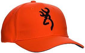 Buckmark Logo Orange Cap