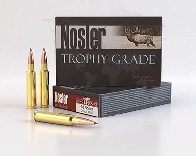 33 NOSLER TROPHY GRADE 265GR ACC LR