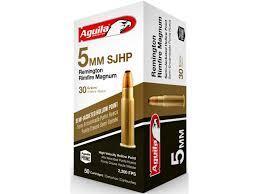 5MM REMINGTON RIMFIRE MAG 30GR HP