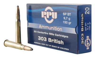 303 BRITISH 150 GRAIN SOFT POINT