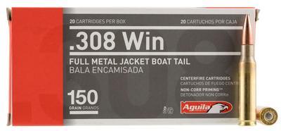 308WIN 150 GRAIN FULL METAL JACKET