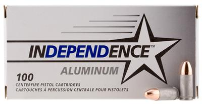 9MM INDEPENDENCE 115 GRAIN FMJ