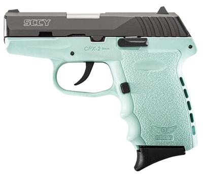 9MM CPX-2 BLK/ROBIN EGG BLUE
