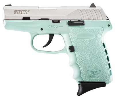 9MM CPX-2 TWO TONE ROBIN EGG BLUE