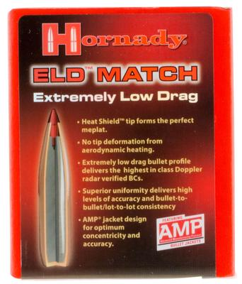 30CAL ELD MATCH 208 GRAIN BULLETS
