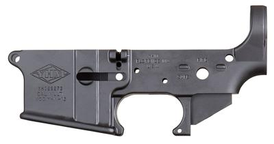 LOWER RECEIVER STRIPPED BLACK