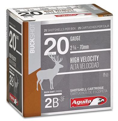 20GA HIGH VELOCITY 23/4` 23/4OZ #2 BUCK