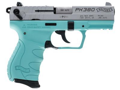 380ACP PK380 SS/ANGEL BLUE