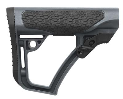 COLLAPSIBLE RIFLE GLASS REINFORCED POLYMER GRAY