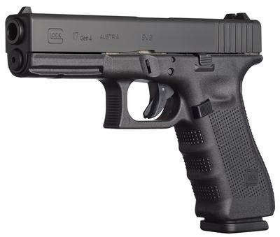 9MM G17 GEN4 M.O.S. BLACK 10 RND MAGS