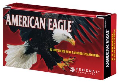 6.5 GRENDEL AM-EAGLE 120GR OPEN TIP