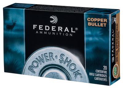 270WIN POWER-SHOK 130GR COPPER HP