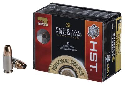 9MM PERSONAL DEFENSE 150GR HST JHP MICRO