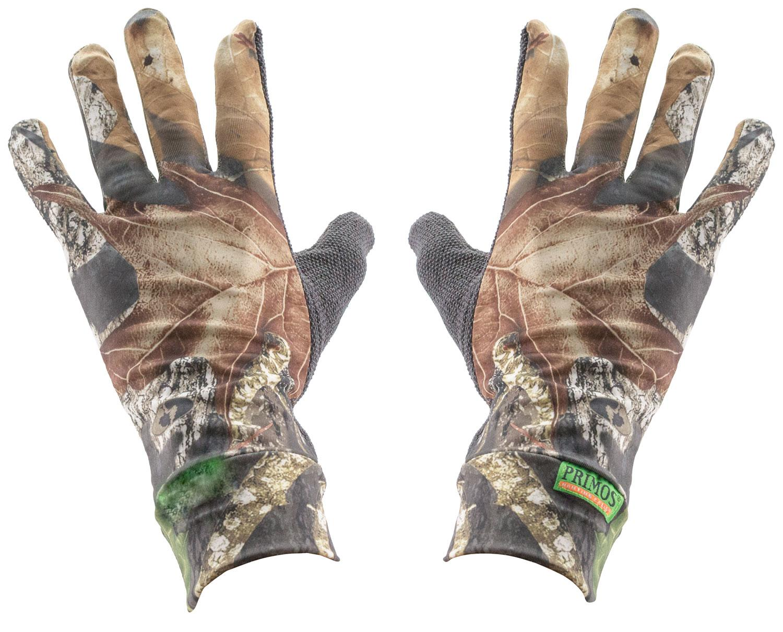 Stretch Fit Gloves Sure Grip Palm Mesh