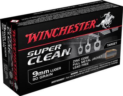 9MM SUPER CLEAN 90GR FMJ
