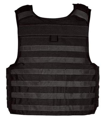 ARMOR CARRIER SLICK  BLACK CUTAWAY