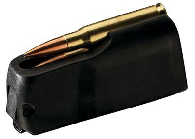 26 NOSLER X-BOLT 3 ROUND MAG BLACK