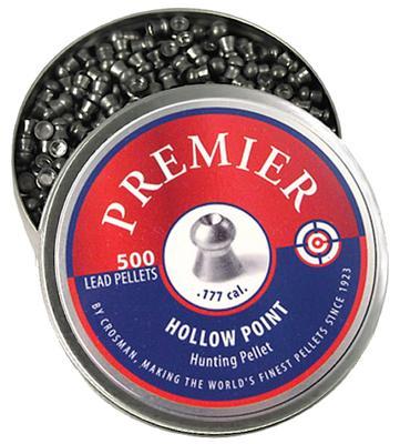 PREMIER HUNTING .177 PELLET LEAD HOLLOW POINT 500