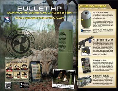 CONVERGENT BHP-4000-KIT BULLET SYSTEM