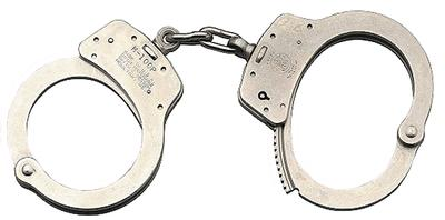 MODEL 100 STAINLESS HANDCUFFS