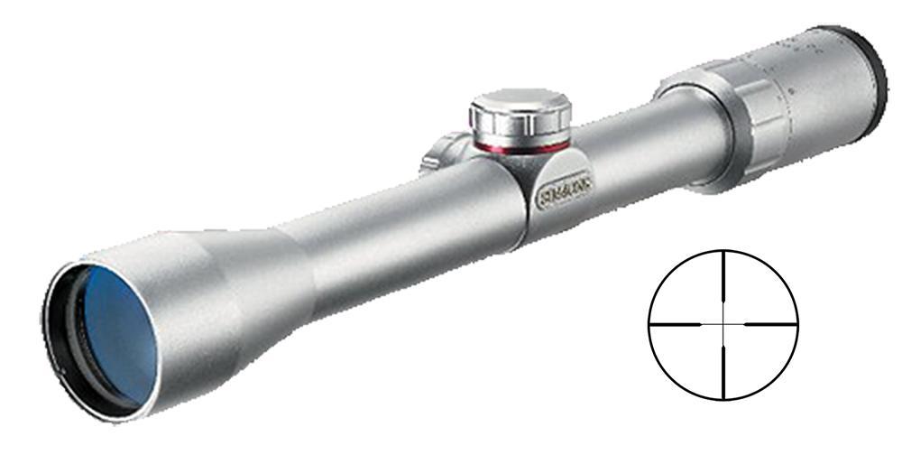 3- 9x 32mm 22 Mag 1'silver Truplex
