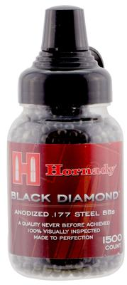 HORNADY BLACK DIAMOND .177 BB STEEL 1500