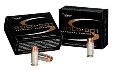 9MM GOLD DOT 124GR HP SHORT BARREL