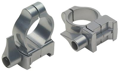 1` QD SCOPE RINGS MED SILVER