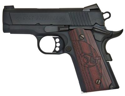 45ACP 1911 DEFENDER 3` BBL BLUED