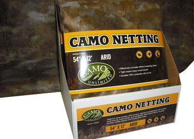 CAMO 9530 POLY NETTING ARID     54X144