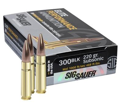 300 BLACK OUT ELITE HUNTING 120GR OPEN