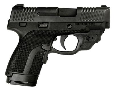 9MM HONOR GUARD SUB-C W/LASER