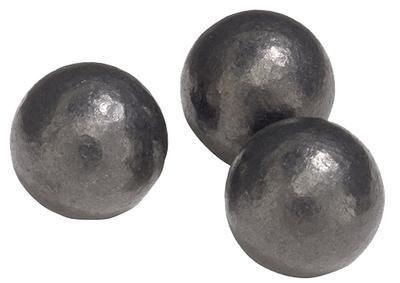 45CAL BLACK POWDER 120GR LEAD BALL