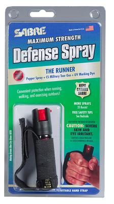 JOGGER PEPPER SPRAY 4` TALL X .87` WIDE