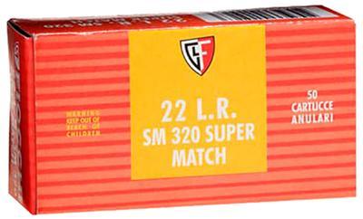 22LR SUPER MATCH 40GR SMTCH