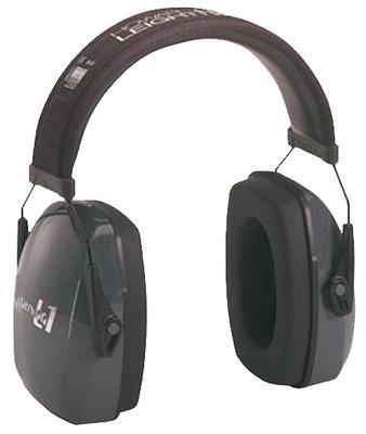 LEIGHTNING PASSIVE EARMUFFS 25 DB BLACK/GRAY