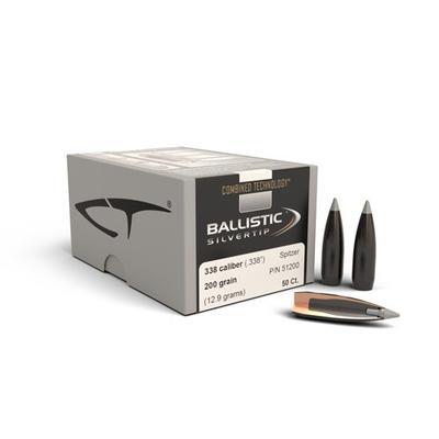 338CAL BALLISTIC SILVERTIP 200 GRAIN