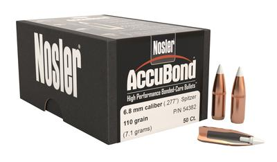 6.8MM ACCUBOND 110GR W/CANNELURE