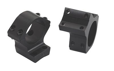 WEAVER STYLE HIGH MATTE BLK SCOPE RINGS